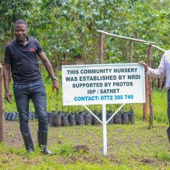 Pépinière communautaire pour stimuler l'agroforesterie